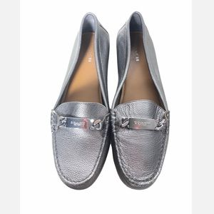 Coach Metallic Driving Loafer